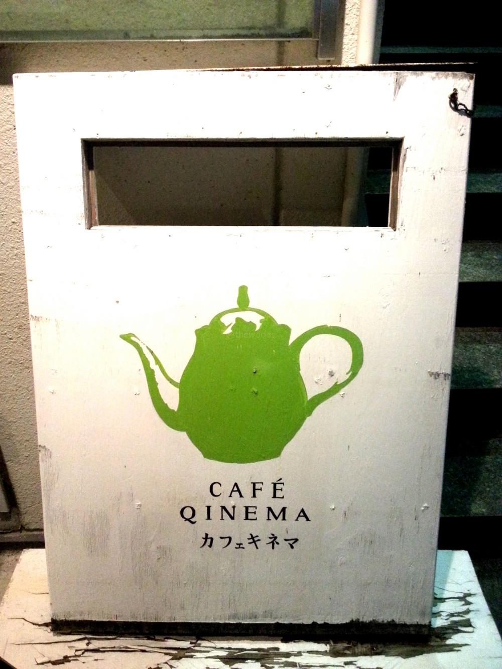 CAFE QINEMA in Toiyacho Okayama