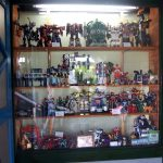 Toys in the show case