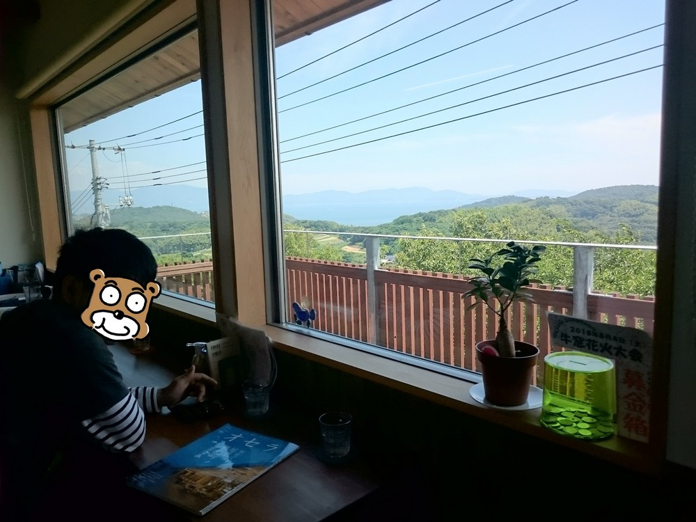 cafe belle maado in ushimado setouchi city