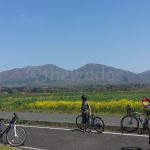 Cycling in Hiruzen-kogen Heights (Maniwa City)