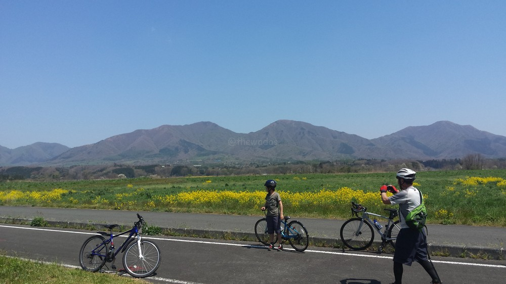 cycling in hiruzen