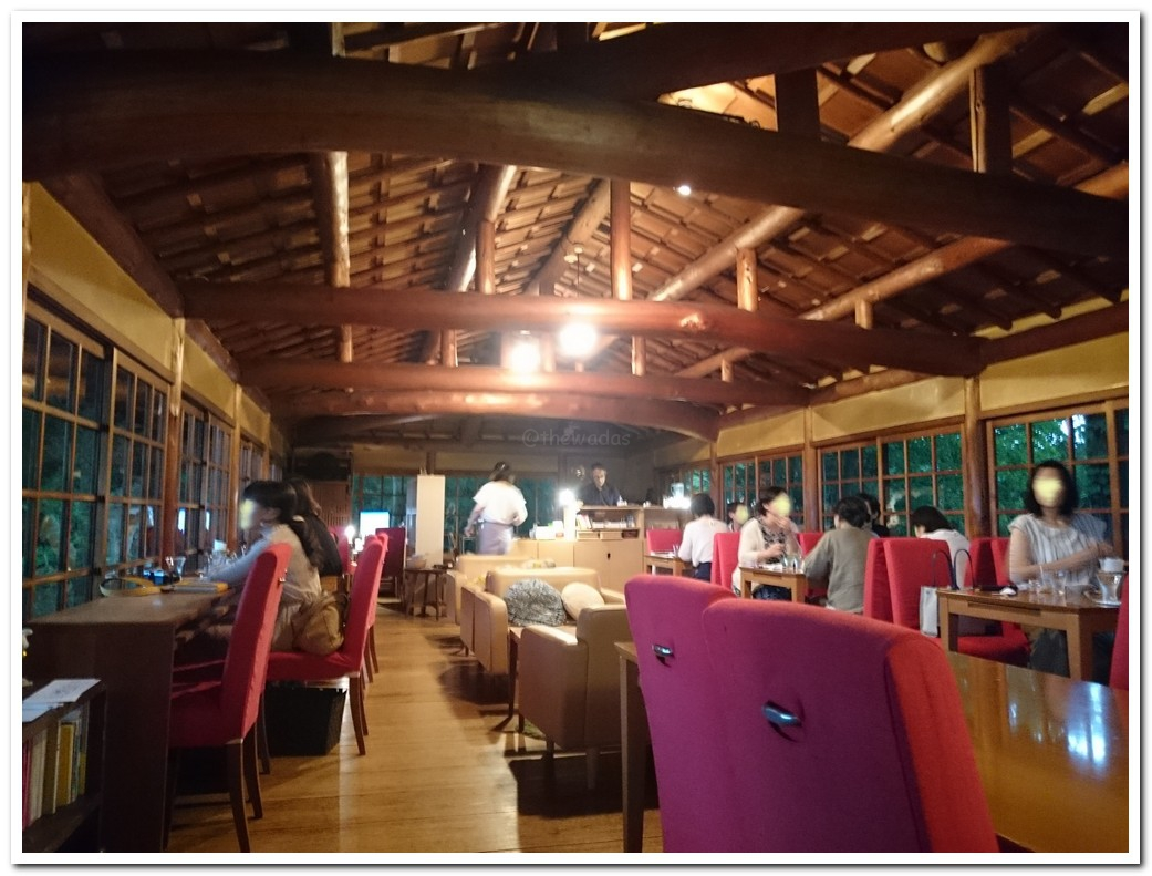 Cafe at Yoshida mountain mo-an Kyoto