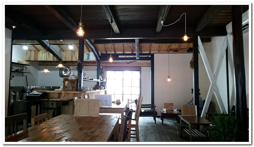 organic food cafe in okayama ito bizen city