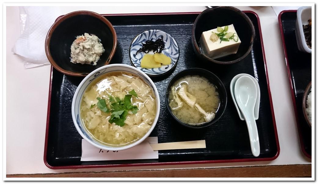 Tofu Restaurant in Okayama CIty: Okabe