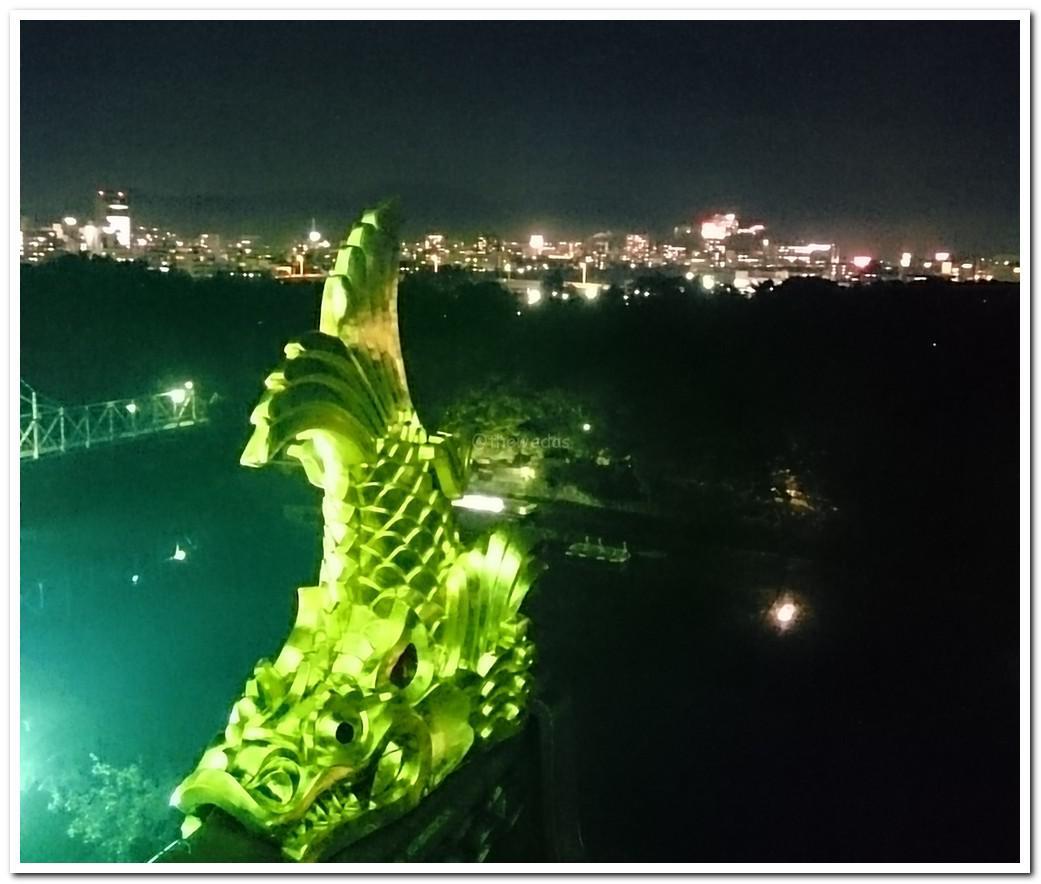 party at Okayama castle