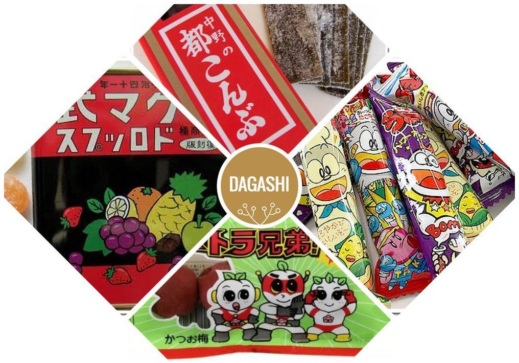 popular dagashi snacks