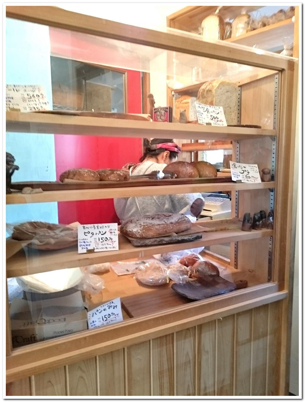 Hidden Bakery in Bizen City; &bread