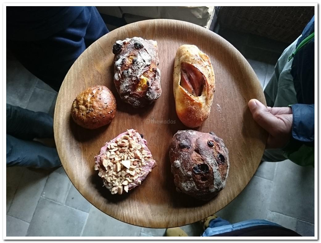 bakery pain stock in Fukuoka