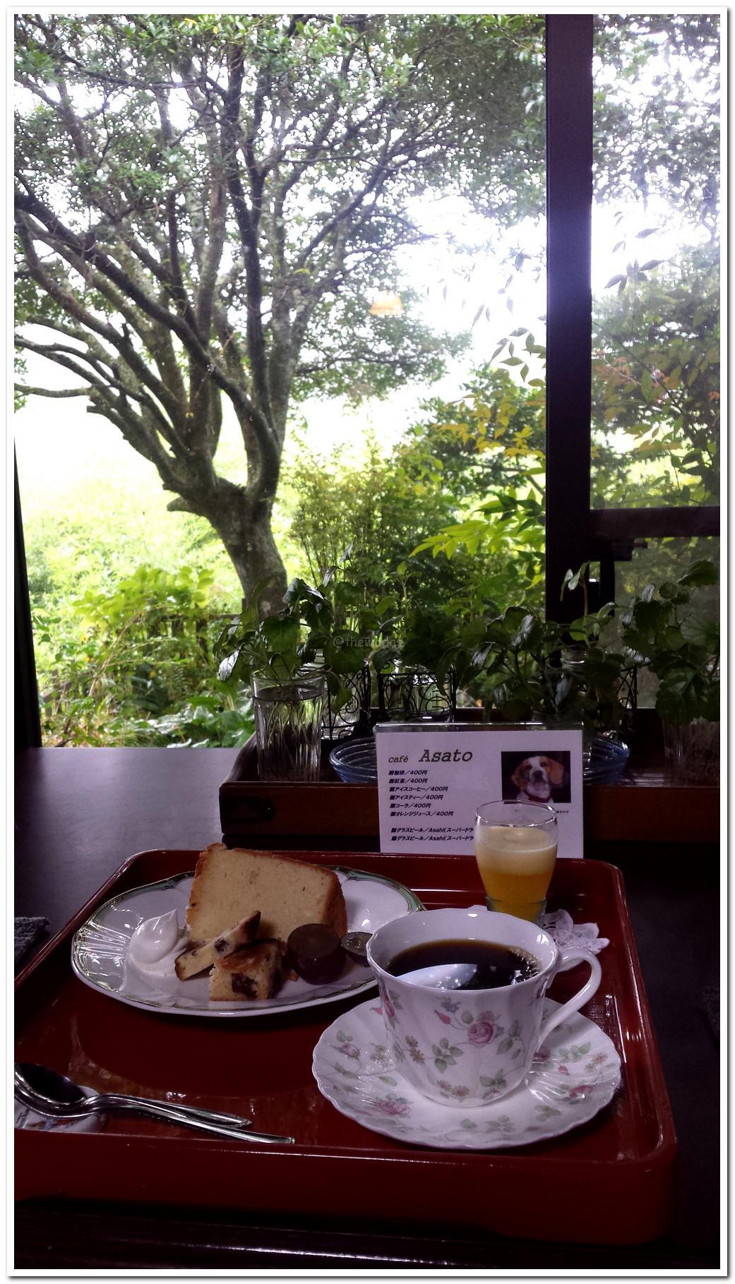 Kominka Cafe Asato in Wake Town