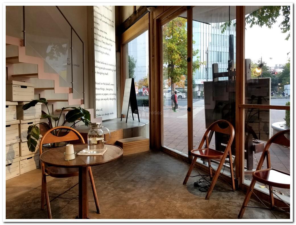 Cafe Stand (Momotaro Street x Nishigawa River)