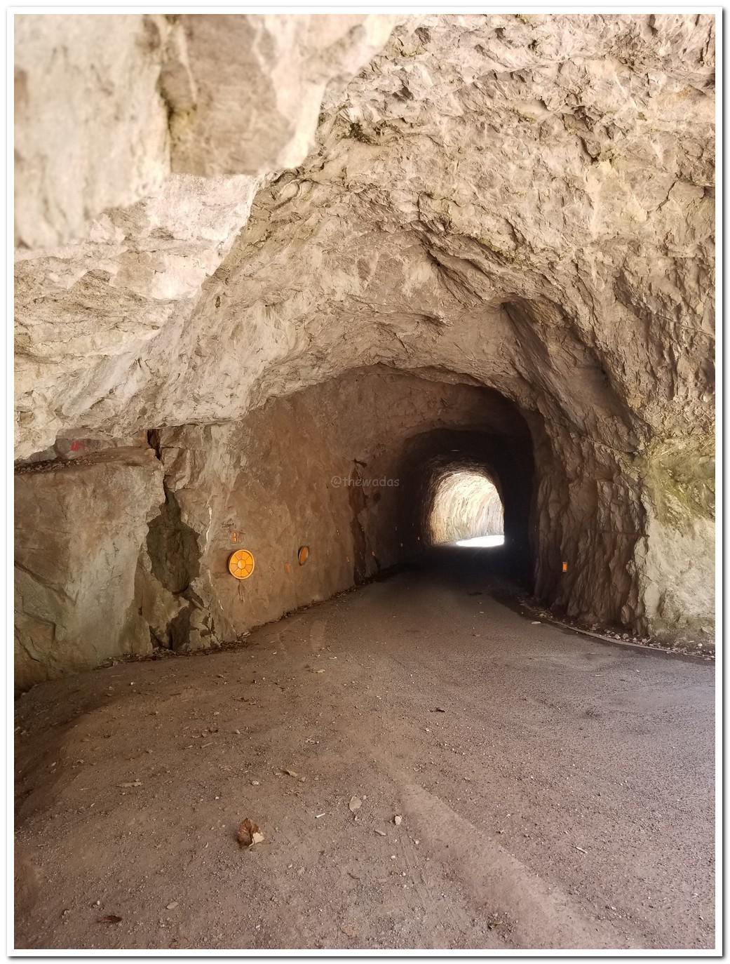 Hayama Tunnel in Takahashi City